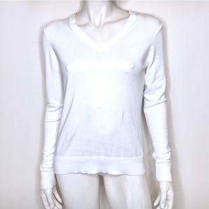 Lilly Pulitzer   White v neck sweater